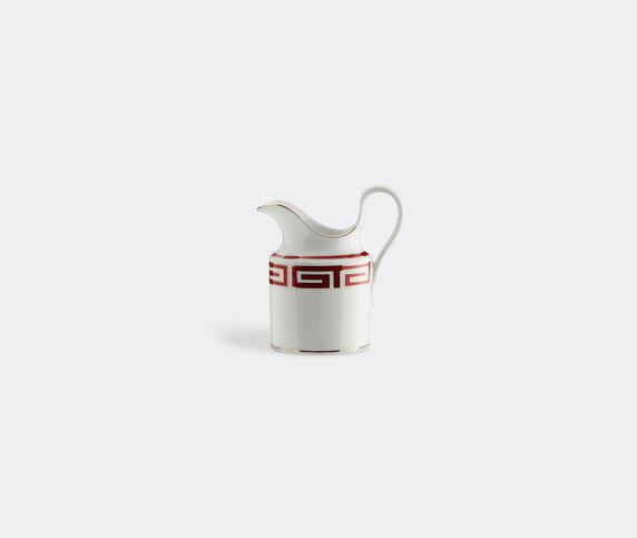 Ginori 1735 'Labirinto' milk jug, red