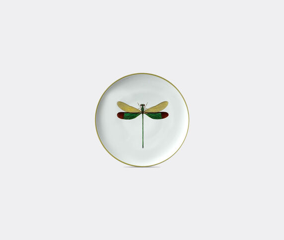 Les-Ottomans 'Insetti' plate, dragonfly