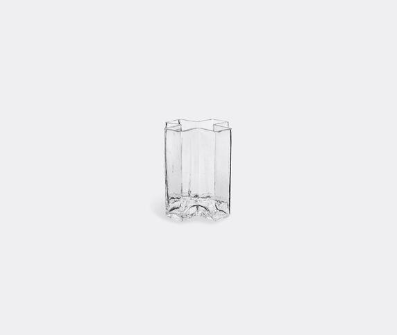 Holmegaard 'Crosses' vase clear, small