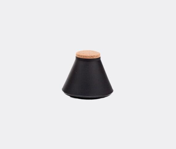 Established & Sons 'Store' jar, wide, matt black