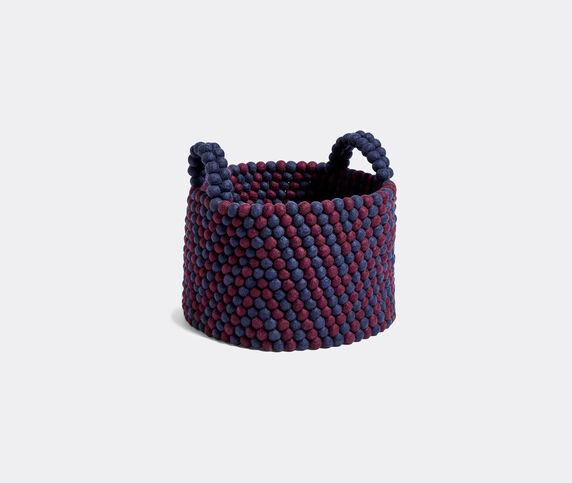 Hay 'Bead Basket', burgundy