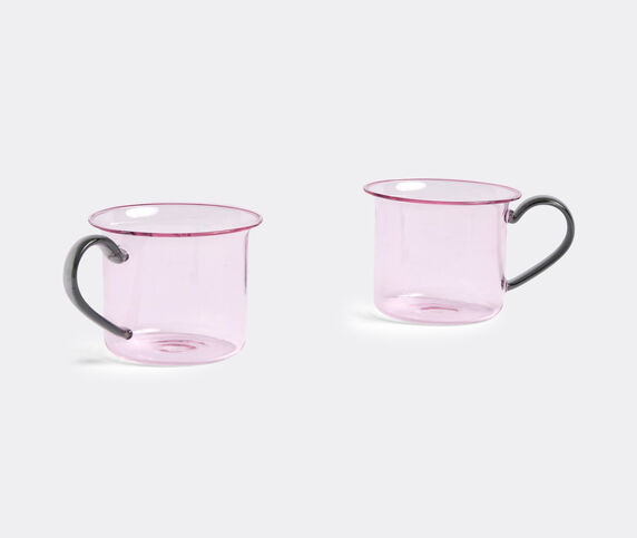 Hay Borosilicate cup, set of two, pink