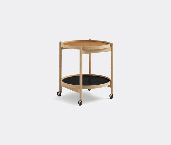 Brdr. Krüger 'Bølling' tray table, 500mm, oak, cognac