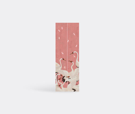 Gucci 'Heron' print wallpaper, pink