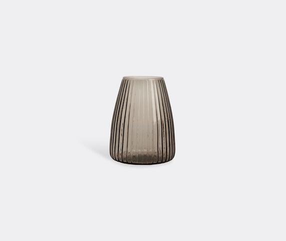 XLBoom 'Dim' vase, M, smoke grey