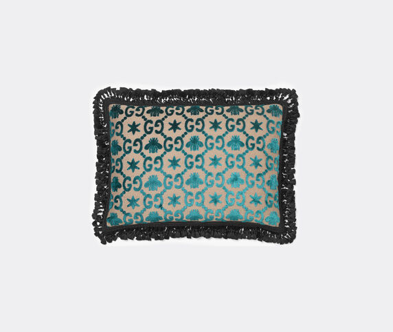 Gucci 'GG' jacquard cushion