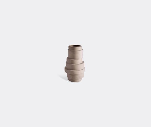 Atipico Pila Ceramic Vase  - H.27 Cm. - Clay-Brown 1