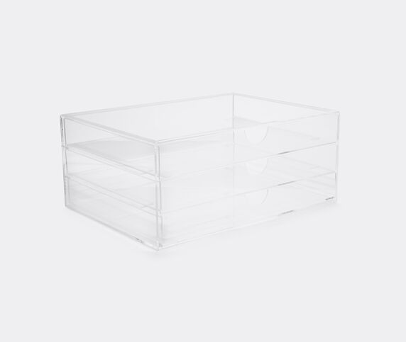 Nomess 'Clear' 3-drawer