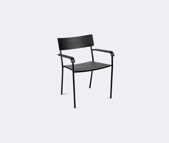 Serax 'August' chair with armrests, black