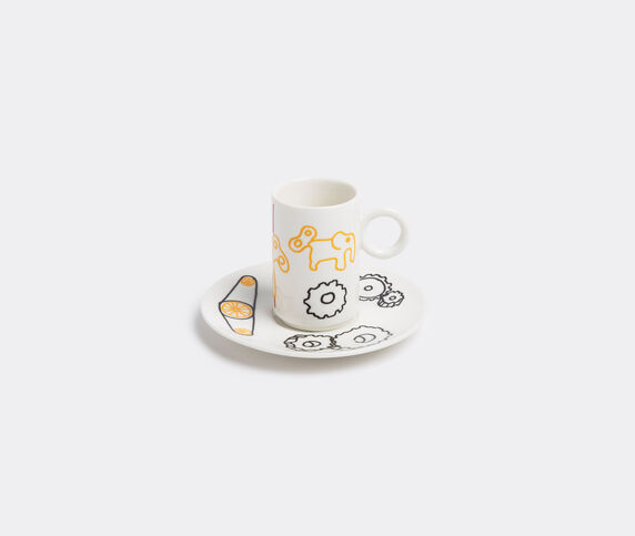 L'Abitare 'Mechanical elephant' coffee cup and saucer