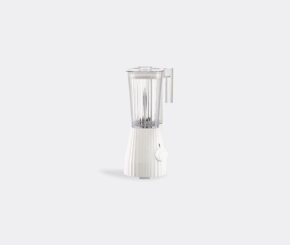 Alessi 'Plissé' blender, white, UK plug