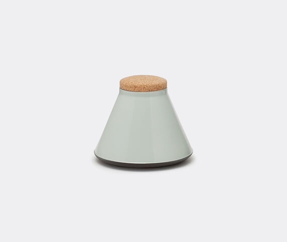 Established & Sons 'Store' jar, wide, gloss grey