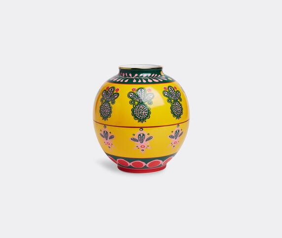 La DoubleJ 'Pineapple Giallo Bubble' vase