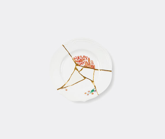 Seletti 'Kintsugi' dinner plate, no 1