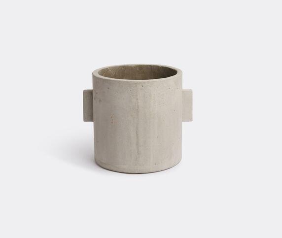 Serax Concrete round pot, grey