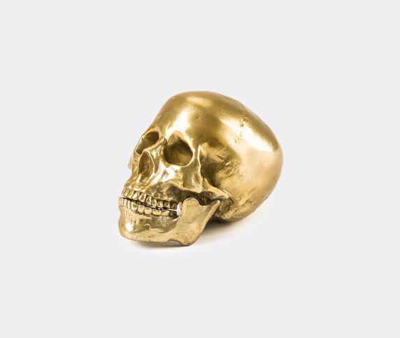Seletti 'Wunderkrammer Skull', gold