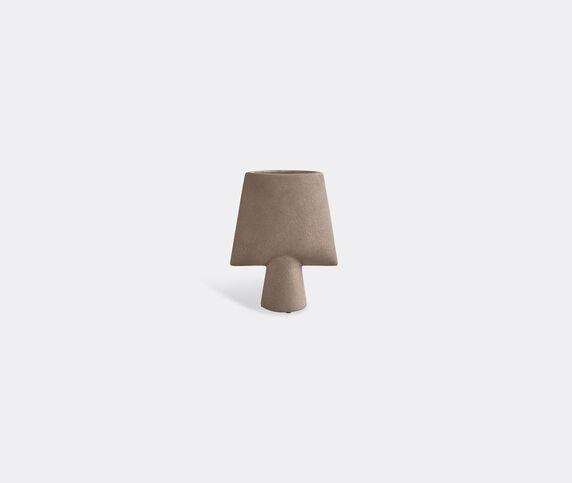 101 Copenhagen 'Sphere' mini vase, square, taupe