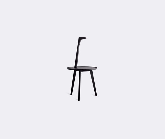 Cassina 'Cicognino' small table, stained ashwood
