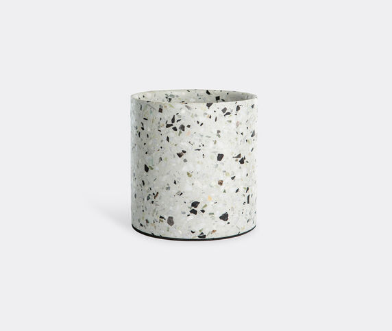 XLBoom 'Terrazzo' pot, white