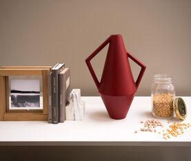 Atipico Koravase Ceramic Vase - Ø Mm 240Xh.525 - Col. Purple Red 3