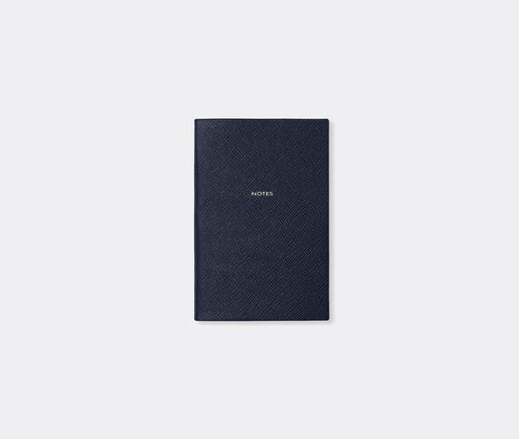 Smythson 'Chelsea' notebook, navy