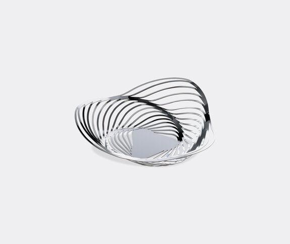 Alessi 'Trinity' basket, silver