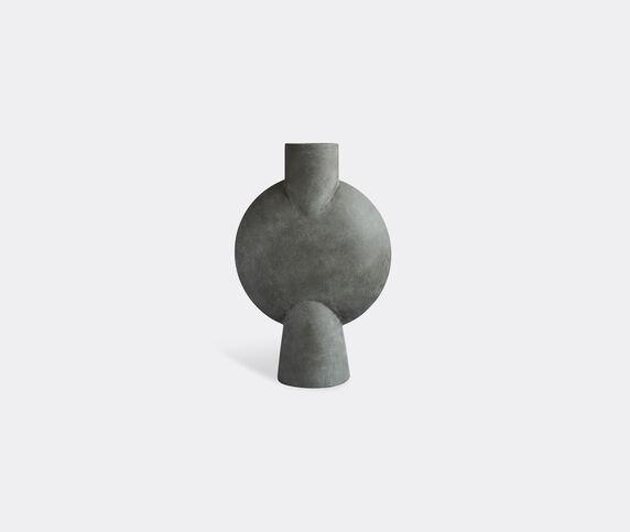 101 Copenhagen 'Sphere' vase, bubl, dark grey