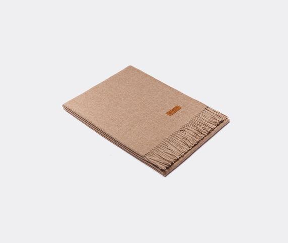 Innata 'Essential Plaid' blanket, walnut