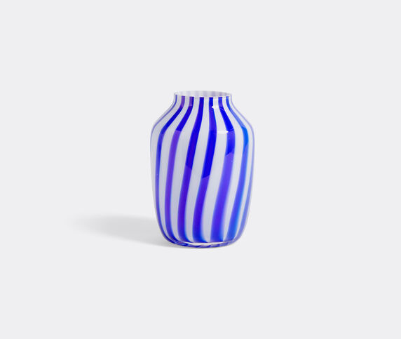 Hay 'Juice' high vase, blue and white