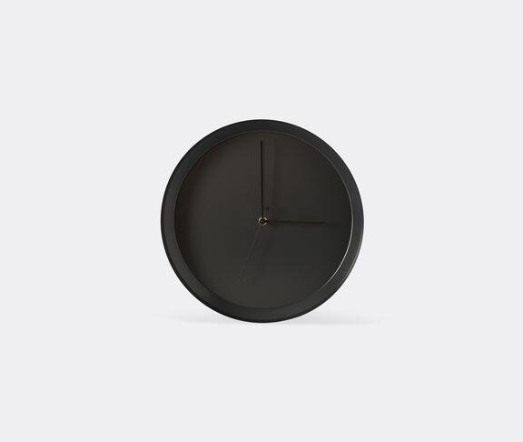 Atipico Dish Clock Iron Wall Clock - Ø Mm 335Xh.35 - Black Grey 2