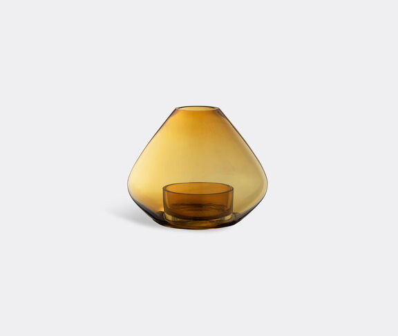 AYTM 'Uno' lantern and vase, amber, small