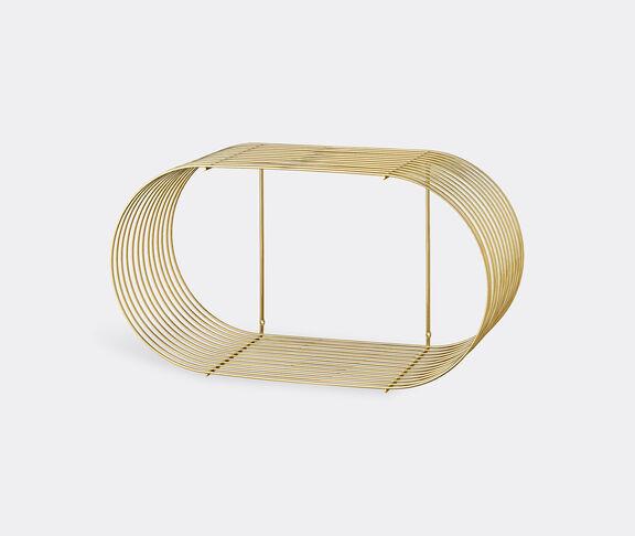 AYTM 'Curva' shelf, gold