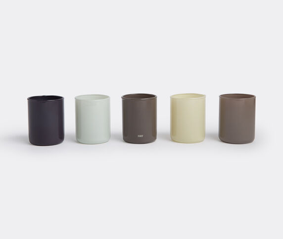 Hay 'Spot', set of five, green and grey