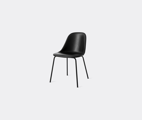 Menu 'Harbour Dining Side Chair', black leather
