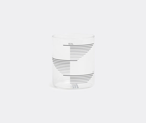 Tre Product Set of four glasses, reclangle stripes