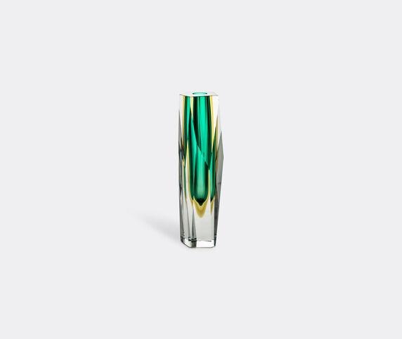 Venini 'Pentagono' vase, green