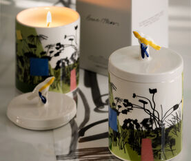 1882 Ltd Ceramic Garden Candle With Bruce Mclean 5