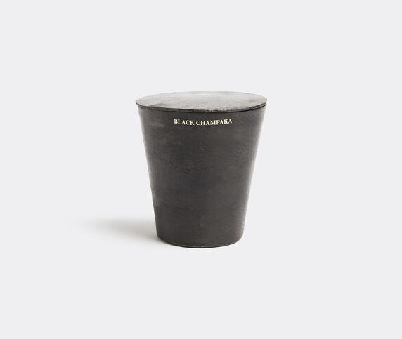 Mad & Len 'Vestimentale' candle, Black Champaka