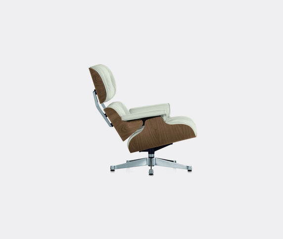 Vitra 'Lounge Chair', walnut and white