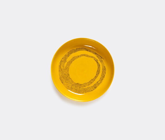 Serax 'Feast' plate, yellow, set of 2