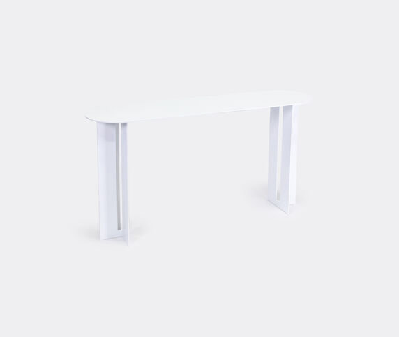 New Format Studio 'Mers' console table, white
