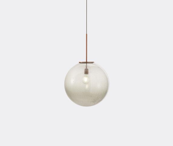 Cassina 'Bollicosa' pendant lamp, grey, UK plug