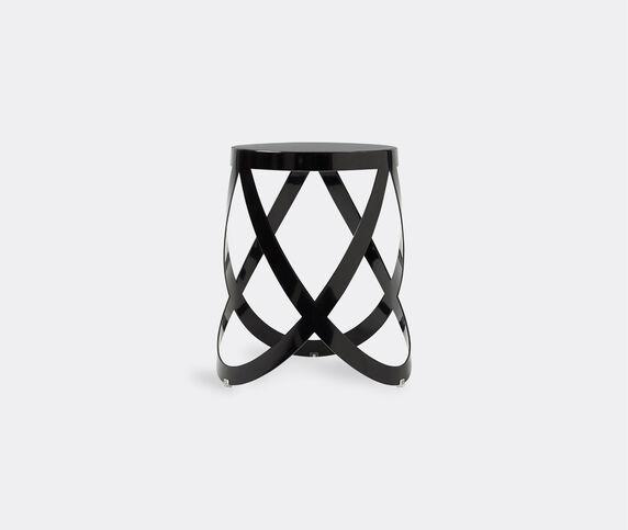 Cappellini 'Ribbon' stool, low, black