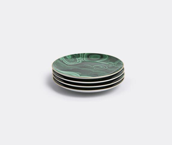 L'Objet 'Malachite' canapé plate, set of four