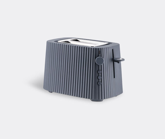 Alessi 'Plissé' toaster, grey, EU plug