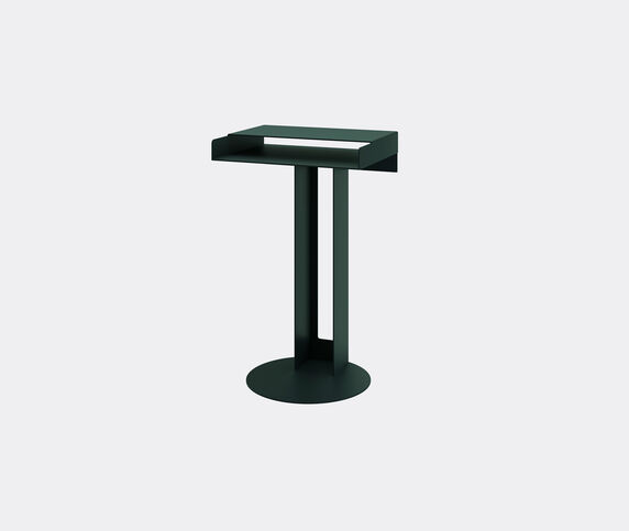 New Tendency 'Meta' side table, dark green