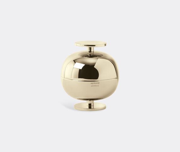 Sambonet Small 'Gio Ponti' luxury centrepiece, champagne