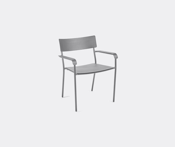 Serax 'August' chair with armrests, grey