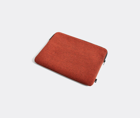 Hay 'Hue' laptop cover, large, rust