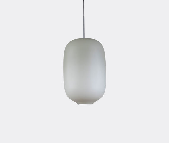 Cappellini 'Arya' hanging lamp, large, grey, US plug